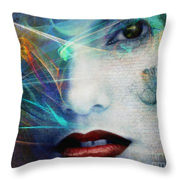 Fragrance Of Love Throw Pillow