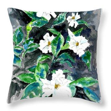 Fragrant Beauty  Throw Pillow