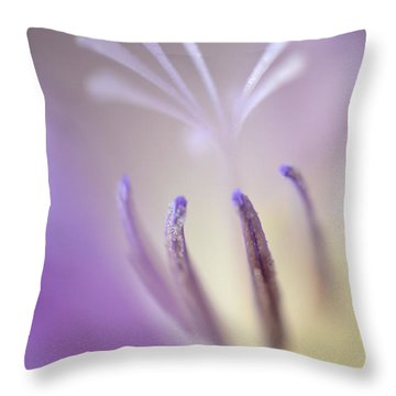 Fragrant Freesia  Throw Pillow