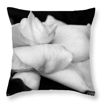 Fragrant Petals Throw Pillow