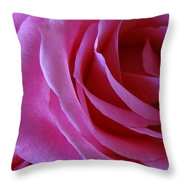 Face Of Roses 2 Throw Pillow