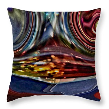 Throw Pillow featuring the photograph Frame Of Mind by Nick David