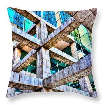Frames II Throw Pillow by Mark Alder