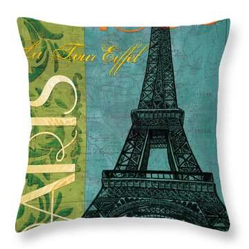 France Throw Pillows