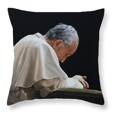 Francesco Throw Pillow by Guido Borelli