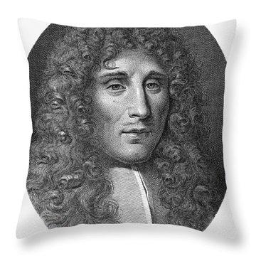 Francesco Redi (1626-1697) Throw Pillow by Granger