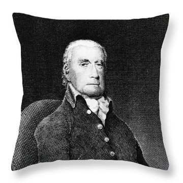 Francis Lewis (1713-1803) Throw Pillow by Granger