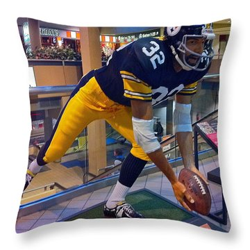 Franco's Immaculate Reception Throw Pillow