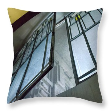 Frank Lloyd Wright's Open Window Throw Pillow