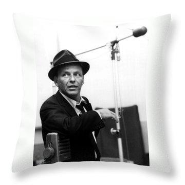 Frank Sinatra Throw Pillows