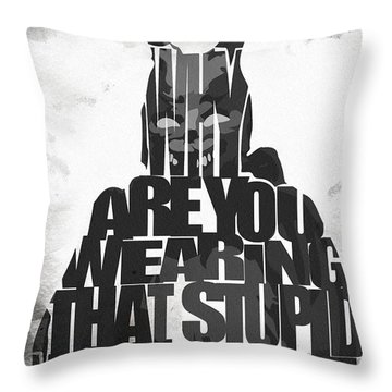 Frank The Rabbit - Donnie Darko Throw Pillow