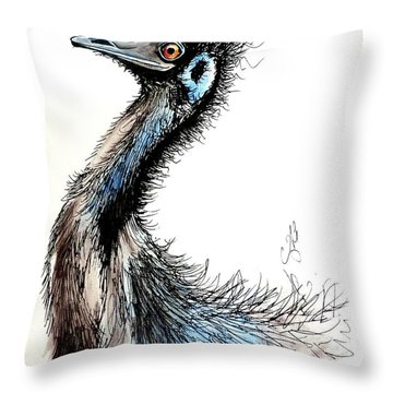 Frankly, My Dear I Don't Give A Damn  Throw Pillow