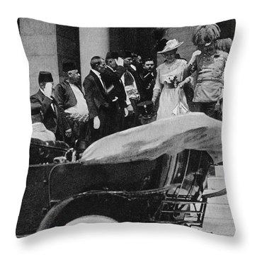 Franz Ferdinand Throw Pillow