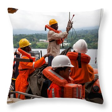 Frc Traing Throw Pillow by Gregory Daley  PPSA