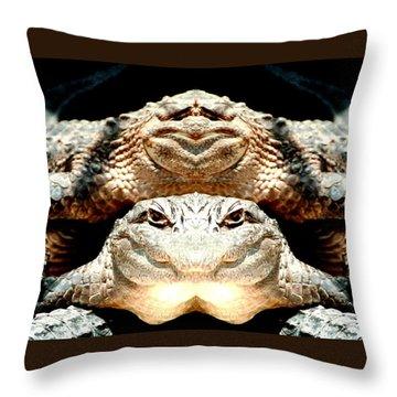Love Them Freaky Florida Gators Throw Pillow