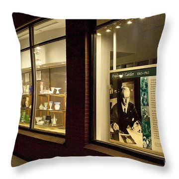 Frederick Carter Storefront 1 Throw Pillow