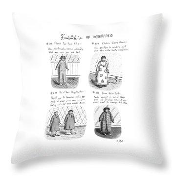 Frederick's Of Winnipeg Throw Pillow