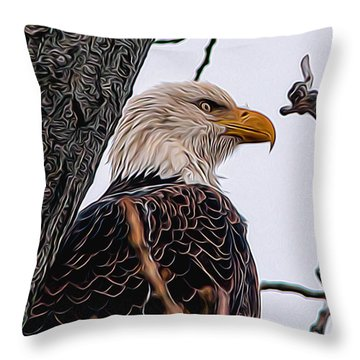Free And Victorious Throw Pillow