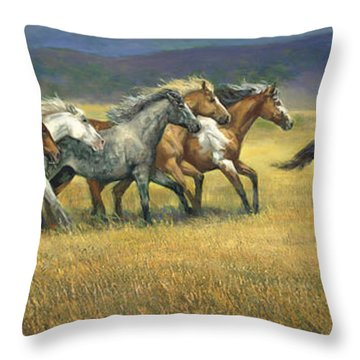 Pinto Throw Pillows