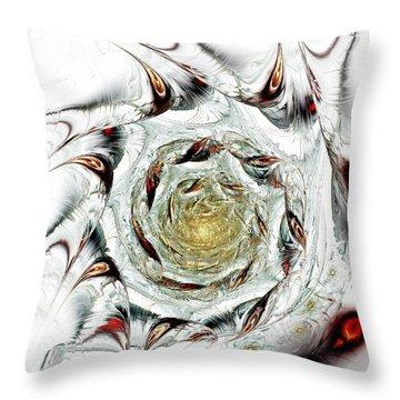 Free Association Throw Pillow by Anastasiya Malakhova
