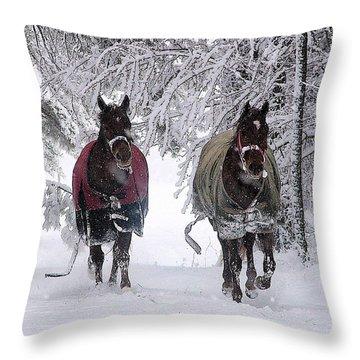 Free At Last Throw Pillow