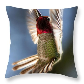 Free Falling Throw Pillow by Melanie Lankford Photography