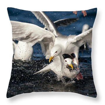 Free For All Throw Pillow