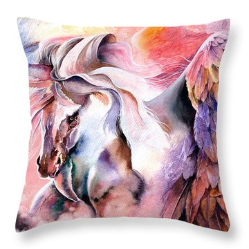 Free Spirit Throw Pillow