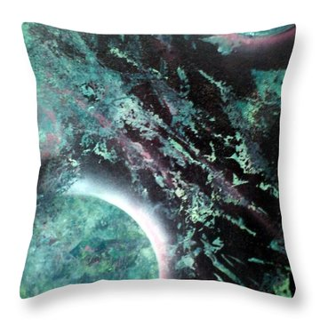 Free Water Throw Pillow