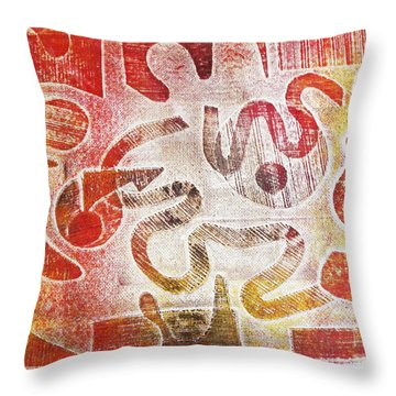 Free Will Throw Pillow by Yael VanGruber