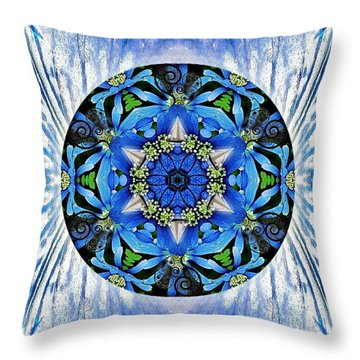 Freedom And Love Throw Pillow
