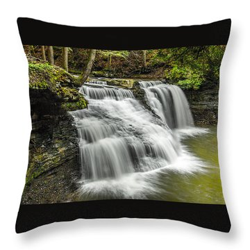Freedom Falls Throw Pillow