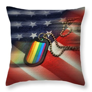 Freedom For All Throw Pillow