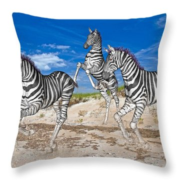 Freedom Fun Forever Throw Pillow