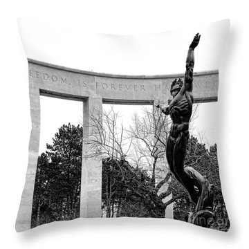 Freedom Is Forever Throw Pillow