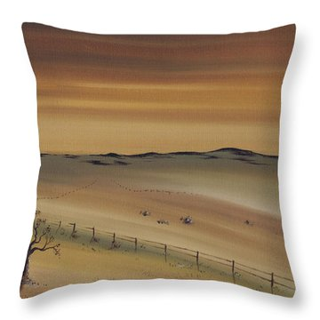 Freedom. Throw Pillow