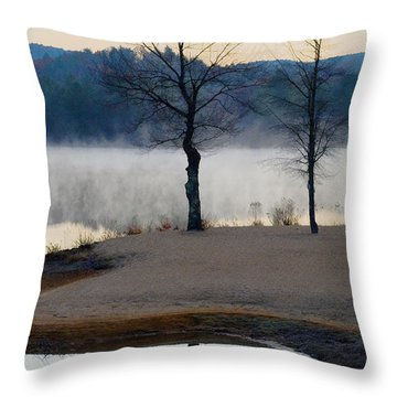 Freedom Mist Throw Pillow