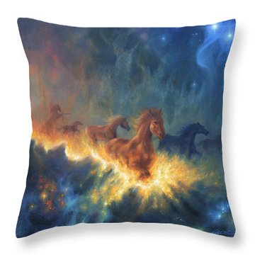 Freedom Of Dreaming Throw Pillow