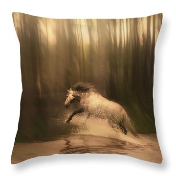 Freedom Of The Forest Throw Pillow