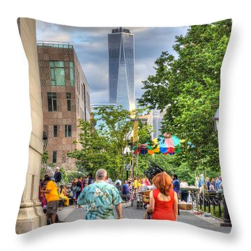 Freedom Throw Pillow by Rick Kuperberg Sr