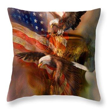 Freedom Ridge Throw Pillow