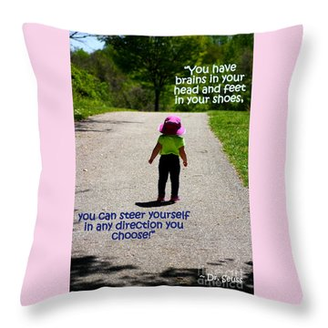 Momentary Freedom Throw Pillow