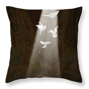 Revelation Throw Pillows