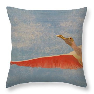 Freedom Throw Pillow by Tim Townsend