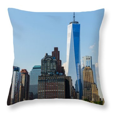 Freedom Tower 2 Throw Pillow