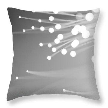 Throw Pillow featuring the photograph Freewill by Dazzle Zazz