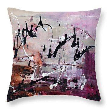 Freezing Love Throw Pillow