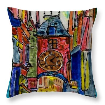 French Dream #1 Throw Pillow