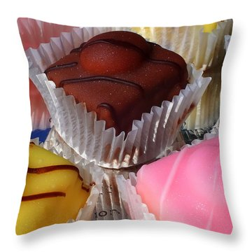French Fancies Throw Pillow