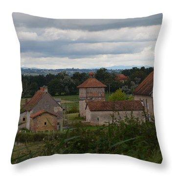 French Farm House Throw Pillow